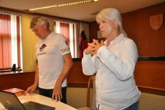 Lúčili sme sa Alenkou Borszékovou (vpravo).